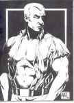 Doc Savage con sketch by RougeDK