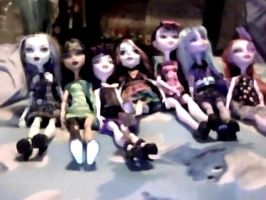 My Monster High doll collection. by Smurfette123