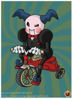 Mr. Mime as the Jigsaw Puppet