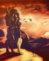 ::MASS EFFECT:: Sun goes down by Beresclet