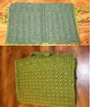 Green Crochet Hook Case by coincollect408