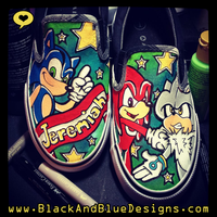 Sonic Shoes by Chylde