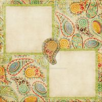 Paisley Scrapbook Page by dark-tears-of-pain