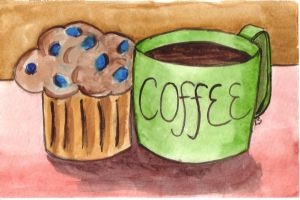 Coffee and a Muffin by JediSeeker1
