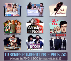 TV Series - Icon Pack 55 by apollojr