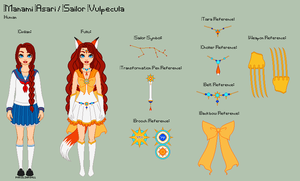 SM - Manami Reference Sheet by porcelian-doll