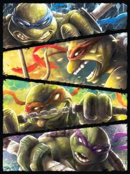Turtle Power by jpzilla