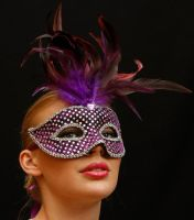 Purple mask by CathleenTarawhiti