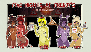 Five Tits At Freddy's by xxCuteEmmyxx