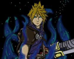Final Fantasy 7- Cloud Strife by animedudevid