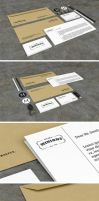 Stationery PSD Mockups (FREE PSD) by GraphicList