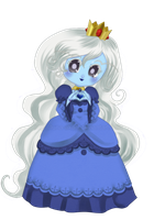 Chibi Ice Queen by Luna-Akari