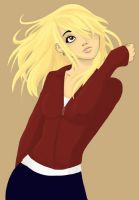 Rose Tyler Colored by Hakari-chan