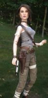 Lara Croft Tomb Raider 2013 OOAK Doll by ShannonCraven