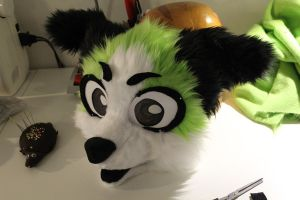 Fursuit WIP by Osanakaan