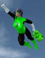 V4 Green Lantern by OrionPax09