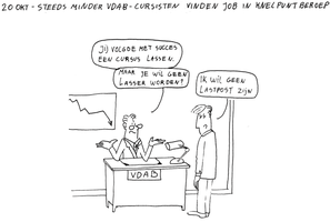 20okt - Less VDAB-people find work by Chardoz