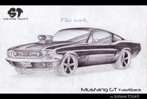 Mustang GT FastBack by SofianeTOUATI