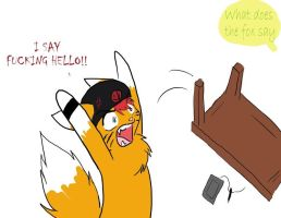 What the Fox say by TheTater