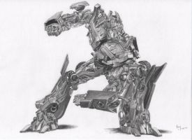 Optimus Prime by FromPencil2Paper