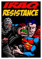 Kryptonite brass knuckles by Latuff2