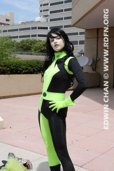 Squinty Shego by K-chan323