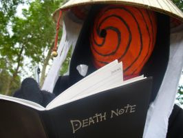 Tobi with a death note by RedSammy