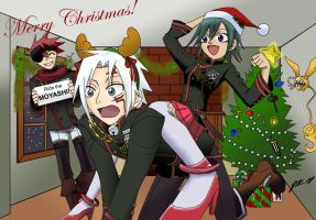 A D.Gray-Man Christmas by SakuraKeyblader78