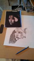 Joan Chen WIP by PluviaCadoLaxus