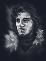 Jon Snow by C0y0te7