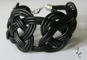 leather bracelet 5 by LovelessCrosseria