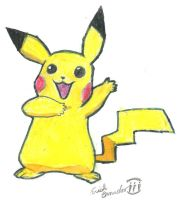 pikachu by Wizard-of-the-Arts