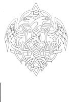 Celtic  outline by Tattoo-Design