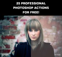 25 Professional Photoshop Actions for Free by photographypla-net