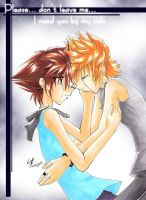 KH: Please.. don't leave me.. by RoXas-1988