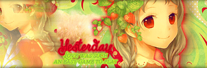 Yesterday love was such an easy game to play by pustakkeramzytowy