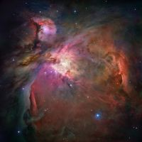 Orion Nebula - Hubble Mosaic by Dephilis