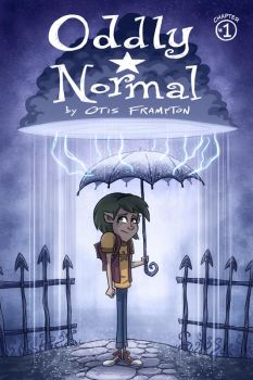 Oddly Normal Issue 1 Cover by OtisFrampton