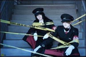 Dolls Police Tape by TheSinisterLove