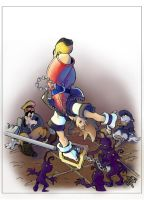 Don't Give Up Sora - COLOUR by teamMINORITY