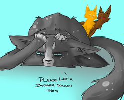 .:I Hope A Badger Squashes You:. by DarKKittie1
