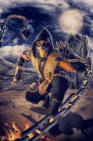SCORPION COSPLAY by carolinaangulo