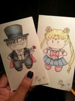 Sailor Moon Bookmarks! by XWorld-DOMInationX