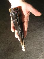 small Gothic drinking horn by Bonecarverpm
