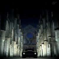 GT5 - Beast in the abbey by Dave79