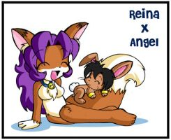 Reina X Angel by runeechan