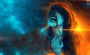 The Hate Cry by Antonio-Figueiredo