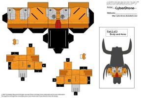 Cubee - Unicron '2of3' by CyberDrone
