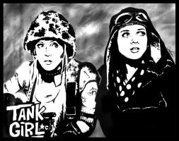 Tank Girl by misscarissarose