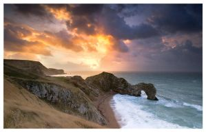 The Call of... Durdle Door by SebastianKraus